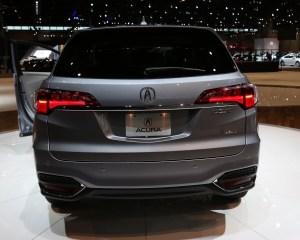 Next 2016 Acura RDX Rear End Design