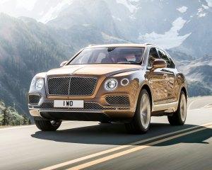 Next 2017 Bentley Bentayga