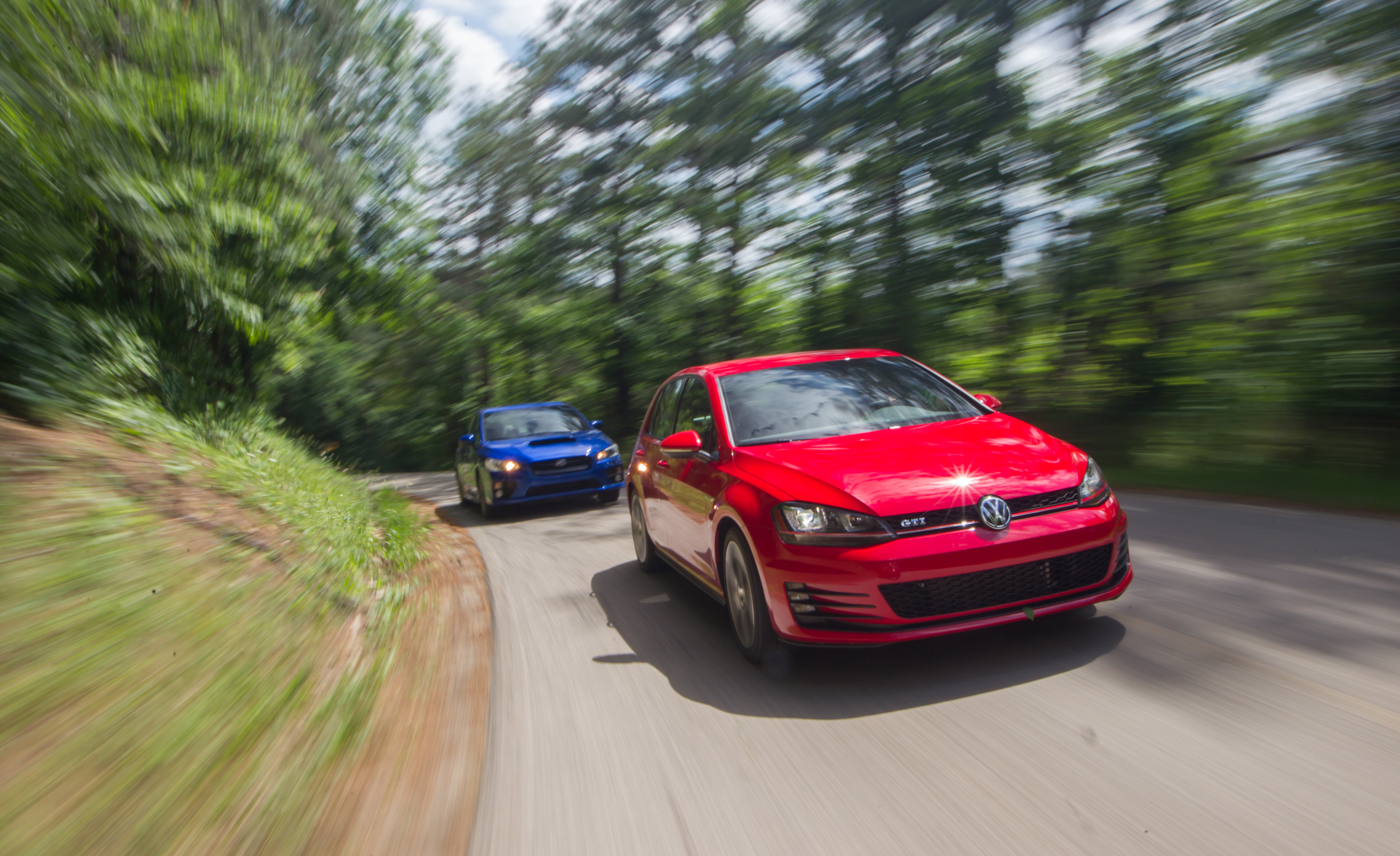 Performance Test 2015 Volkswagen GTI vs 2015 Subaru WRX