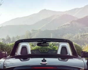 Rear End 2017 Fiat 124 Spider