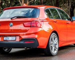 Rear Exterior 2015 BMW 125i