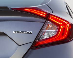 Rear Taillight Honda Civic Touring Sedan 2016