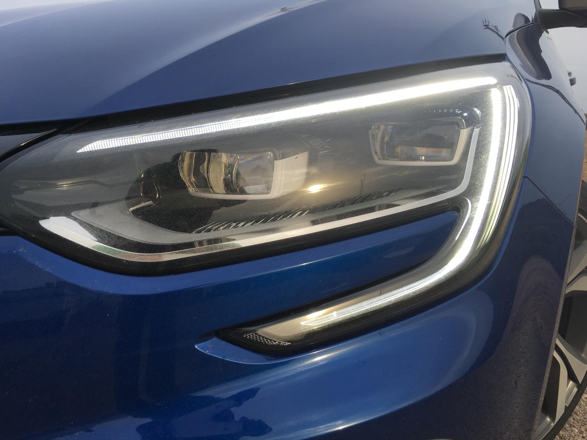 Renault Megane GT Headlight
