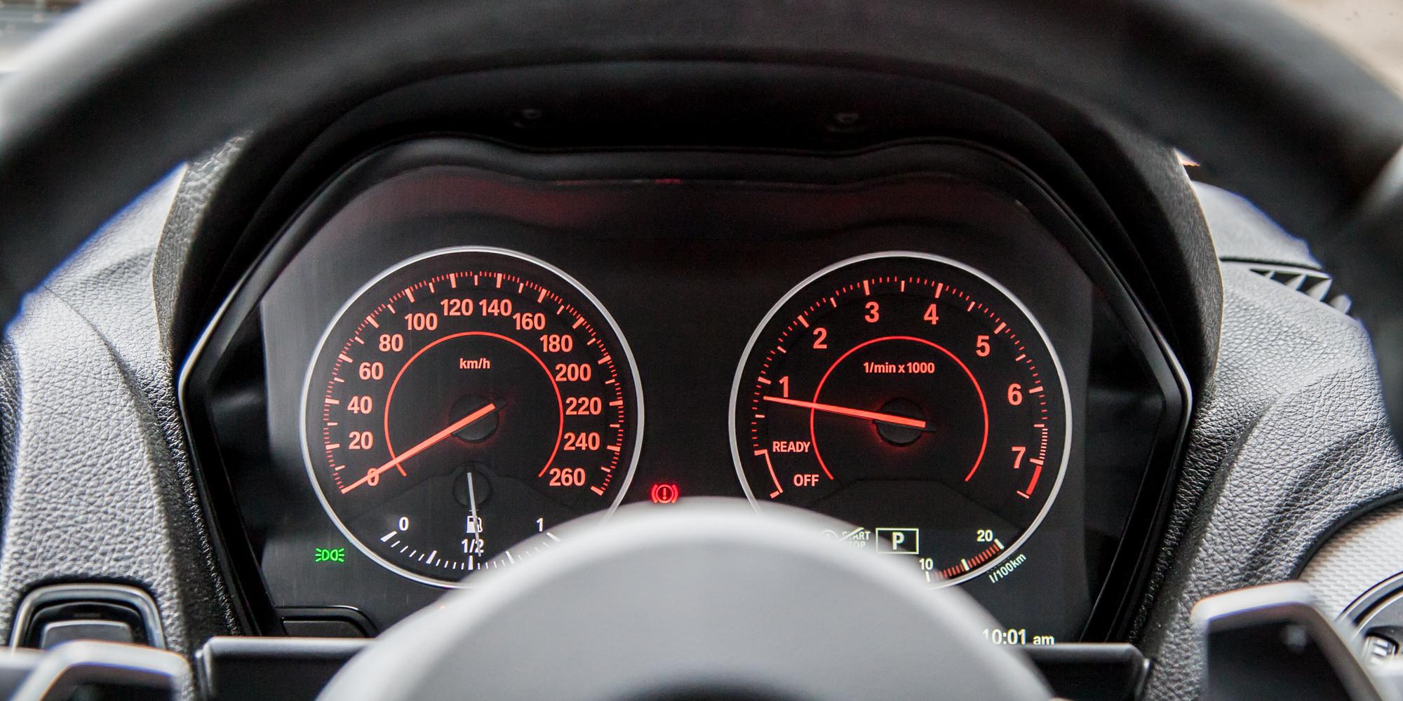 Speedometer 2015 BMW 125i