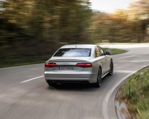 2016 Audi S8 Plus Test Cornering Rear View