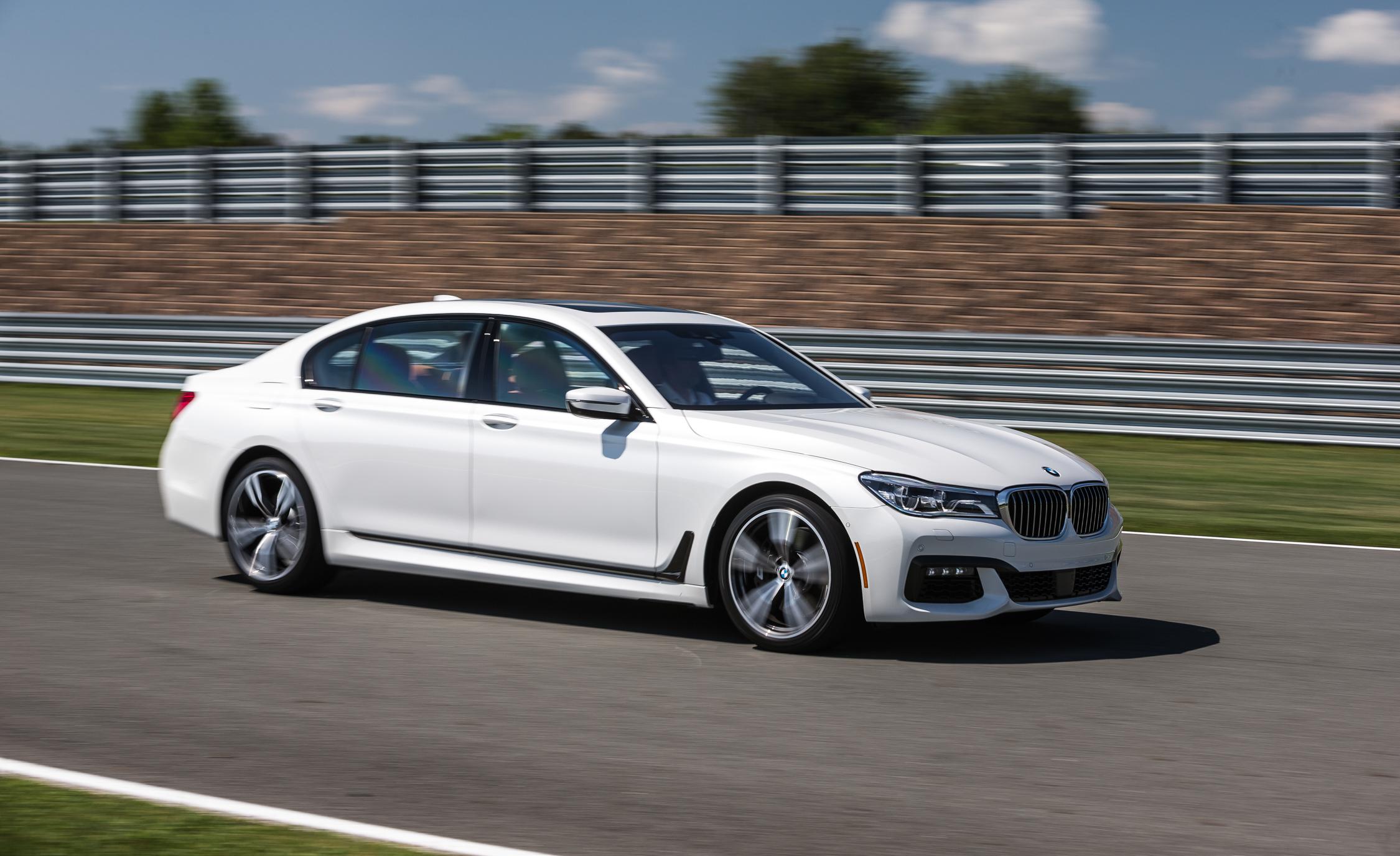 2016 BMW 750i xDrive White Test Drive