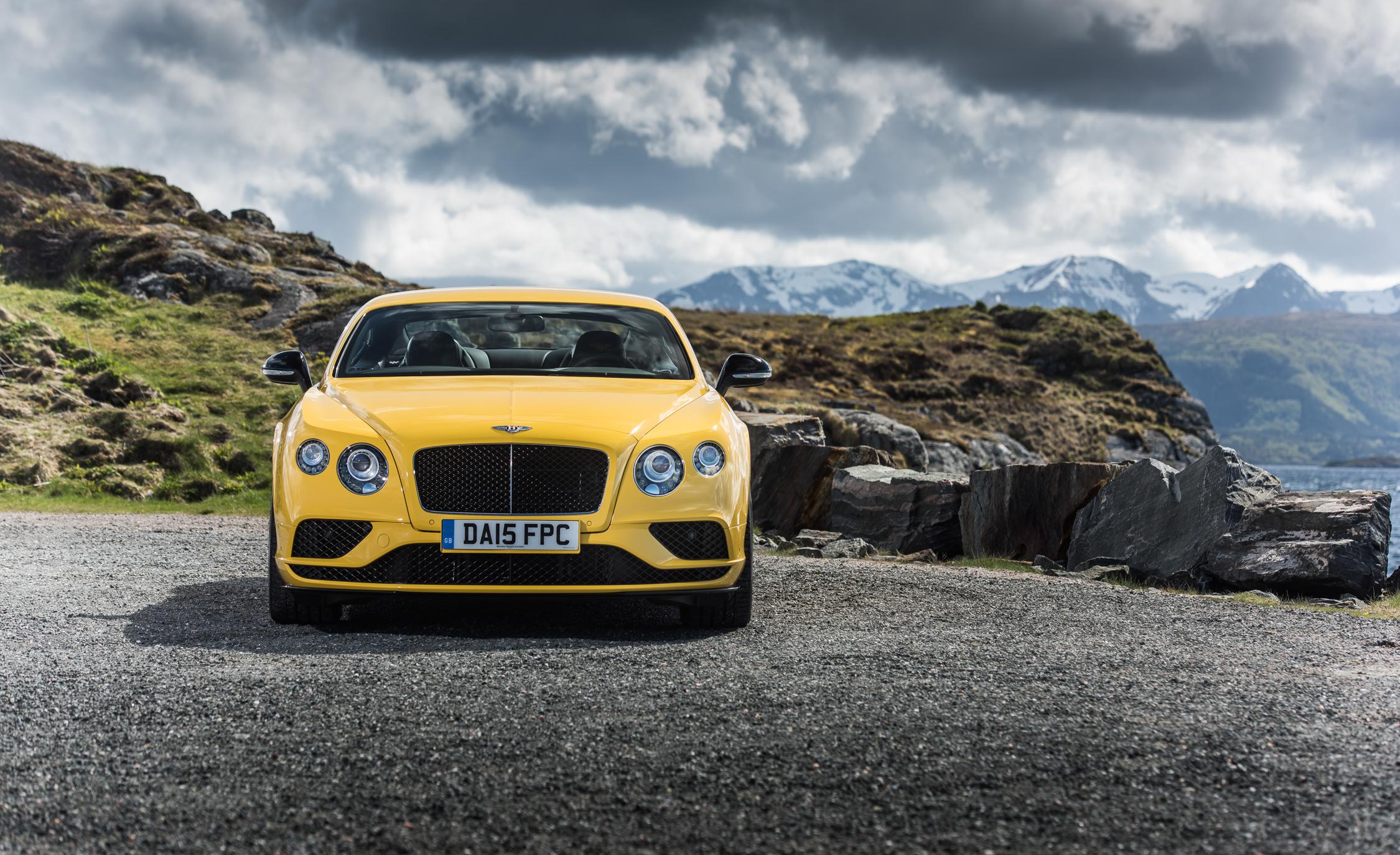 2016 Bentley Continental GT S Exterior Front