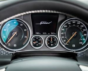 2016 Bentley Continental GT Speed Interior Speedometer