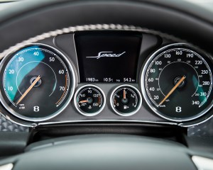 2016 Bentley Continental GT Speed Interior Speedometer