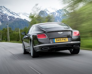 2016 Bentley Continental GT Speed Test Rear View