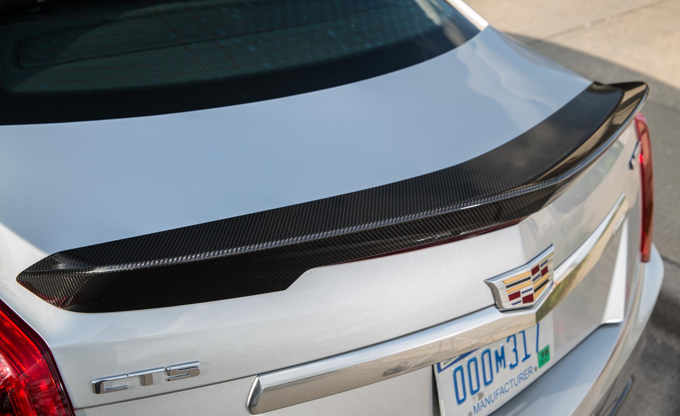 2016 Cadillac CTS-V Exterior Rear Spoiler