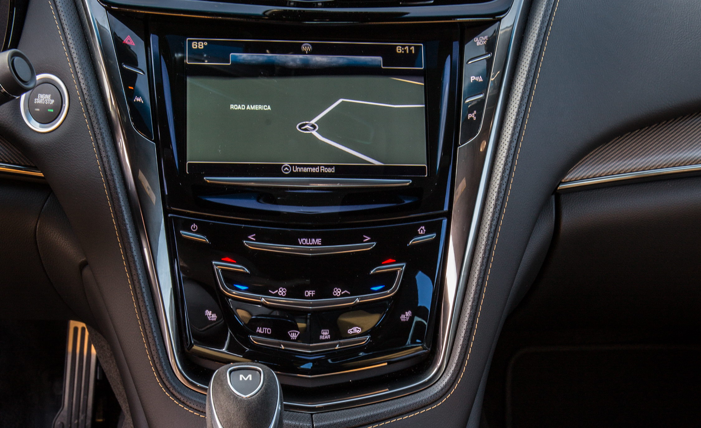 2016 Cadillac CTS-V Interior Center Head Unit