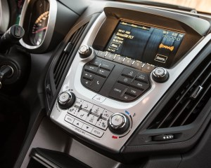 2016 Chevrolet Equinox LTZ Interior Center Head Unit