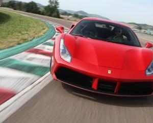2016 Ferrari 488GTB Test Front View