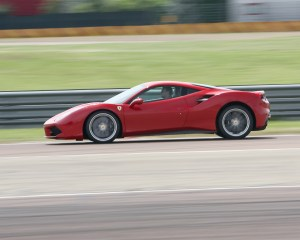 2016 Ferrari 488GTB Test Side View