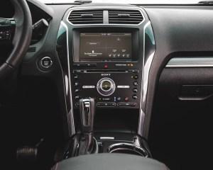 2016 Ford Explorer Sport Interior Center Head Unit