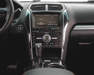 2016 Ford Explorer Sport Interior Center Head Unit