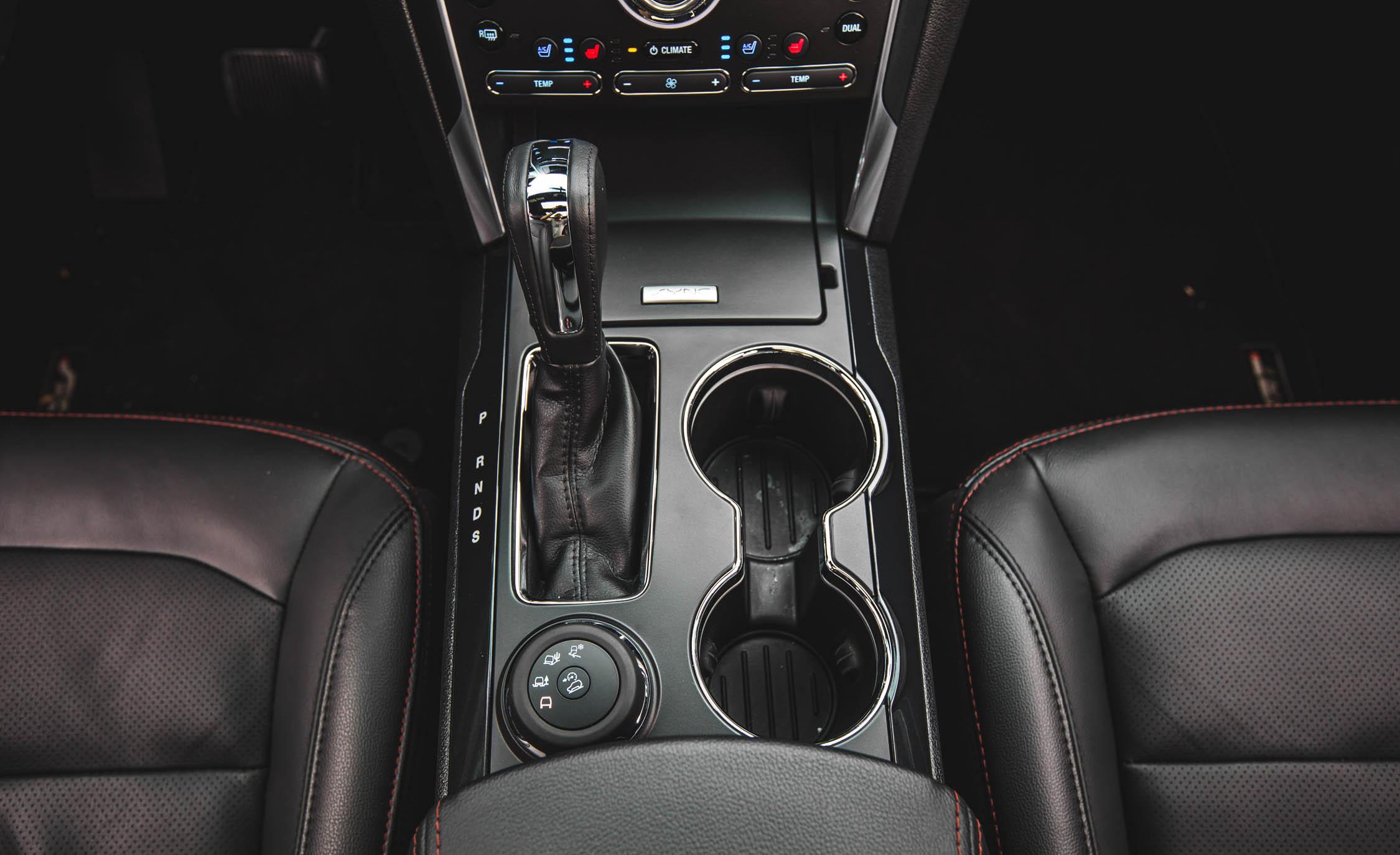 2016 Ford Explorer Sport Interior Gear Shift Knob