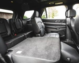 2016 Ford Explorer Sport Interior Seats 3rd Row Rear