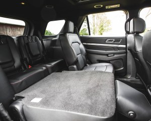 2016 Ford Explorer Sport Interior Seats 3rd Row Rear