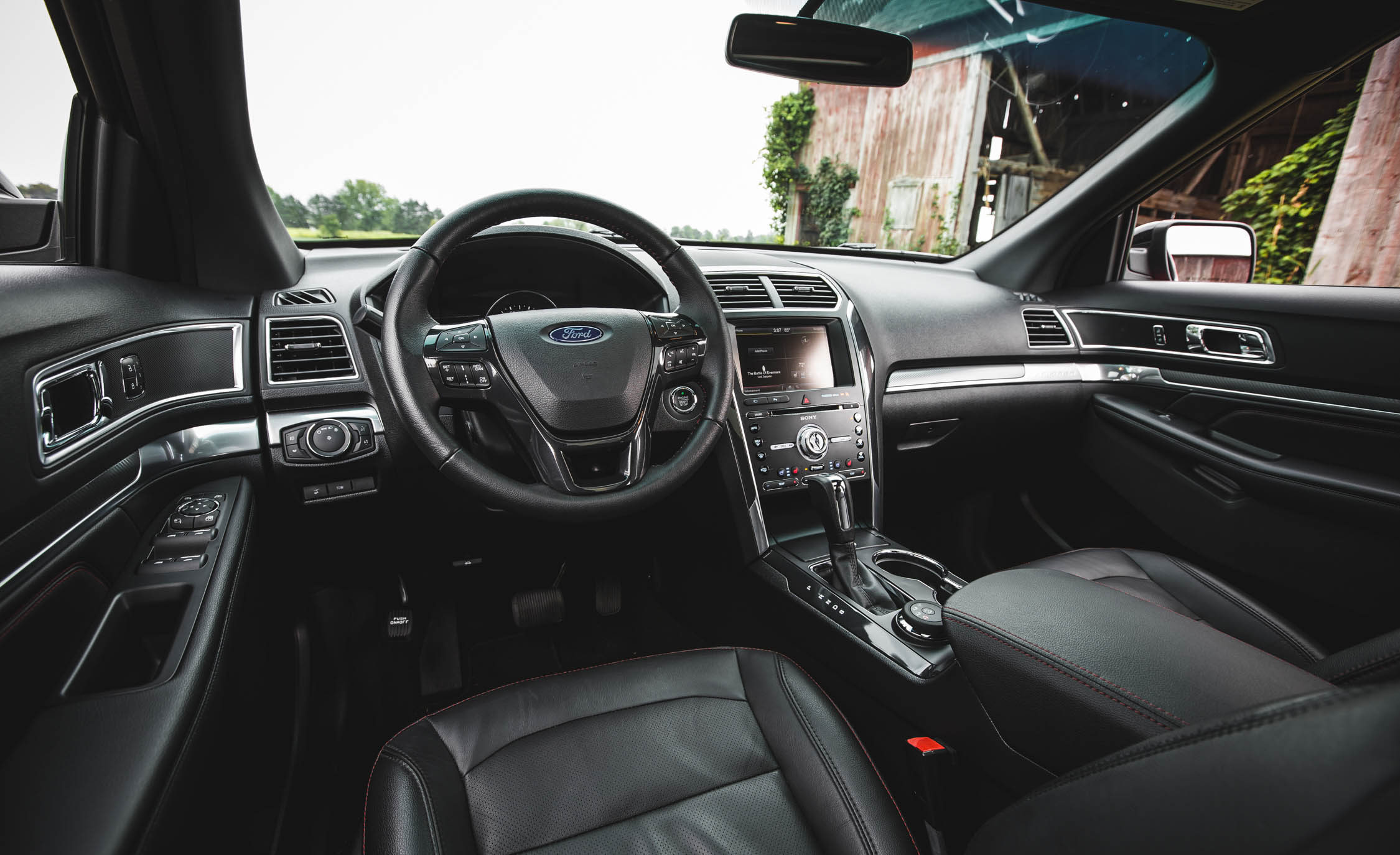 2016 Ford Explorer Sport Interior