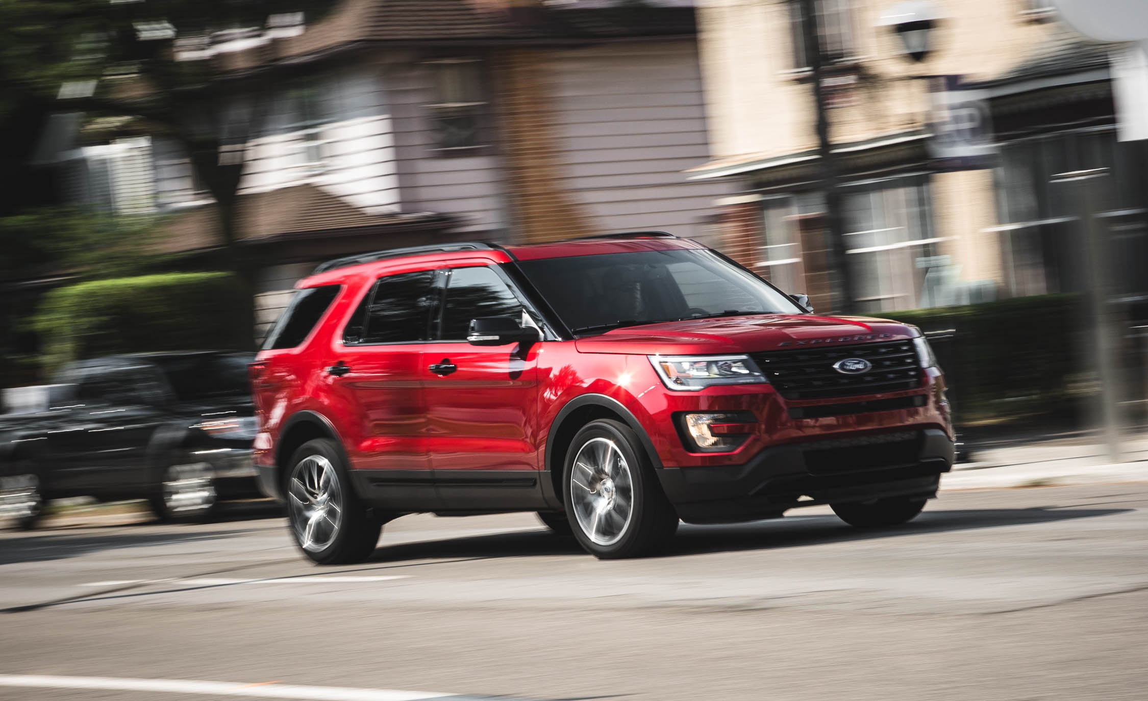 2016 Ford Explorer Sport Test Drive