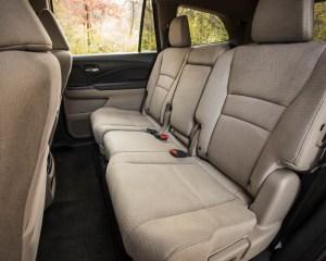 2016 Honda Pilot EX FWD Interior Seats 2nd Row Middle