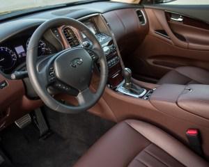2016 Infiniti QX50 Interior Cockpit