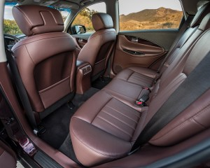 2016 Infiniti QX50 Interior Rear