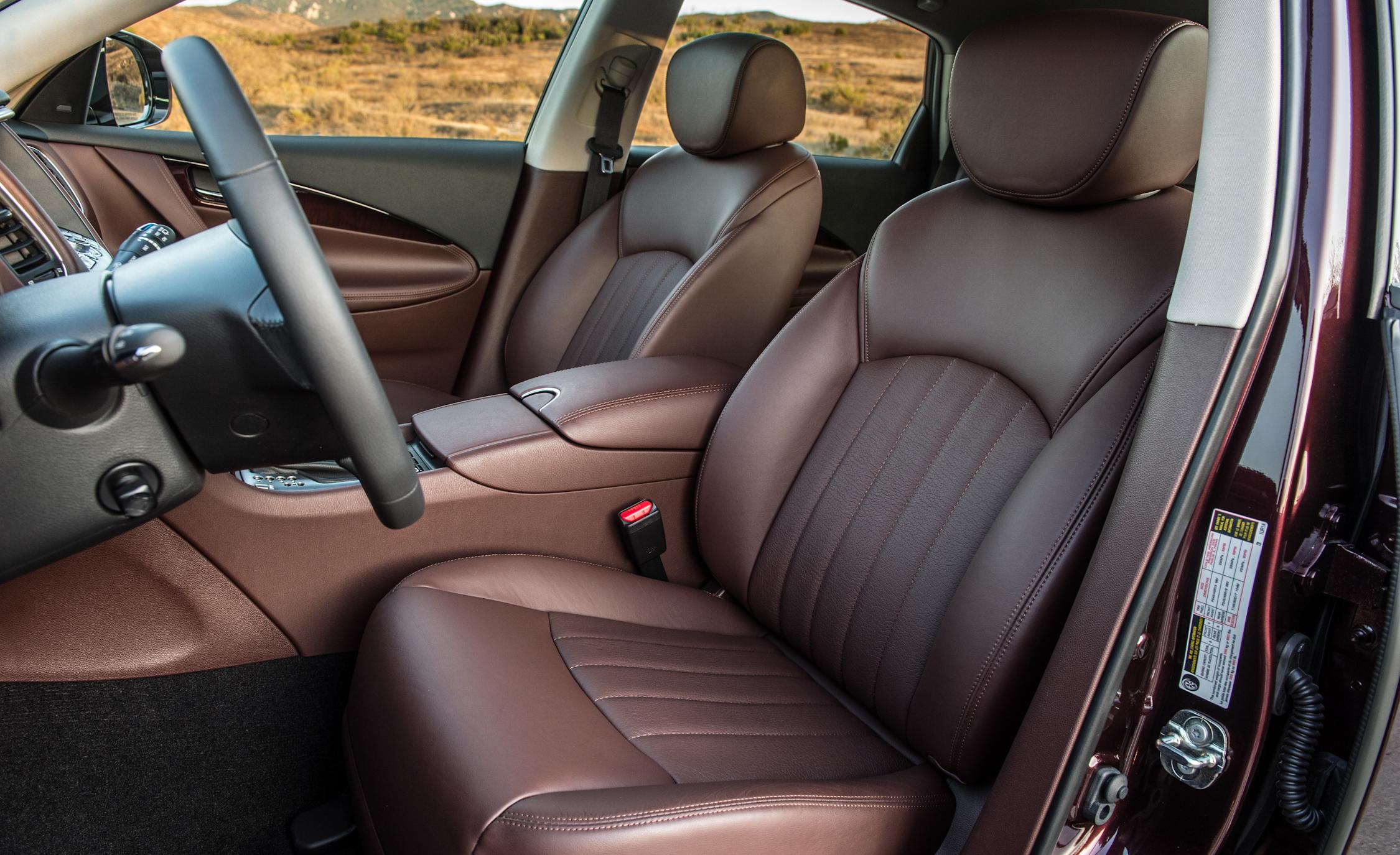 2016 Infiniti QX50 Interior Seats Front Passenger