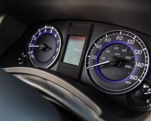 2016 Infiniti QX50 Interior Speedometer