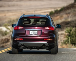 2016 Infiniti QX50 Test Rear View