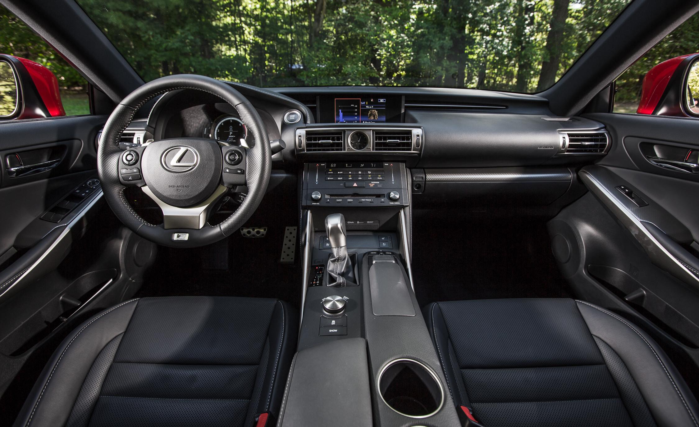 2016 Lexus IS200t F Sport Interior Front