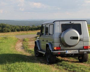 2016 Mercedes-Benz G65 AMG Exterior Rear and Side