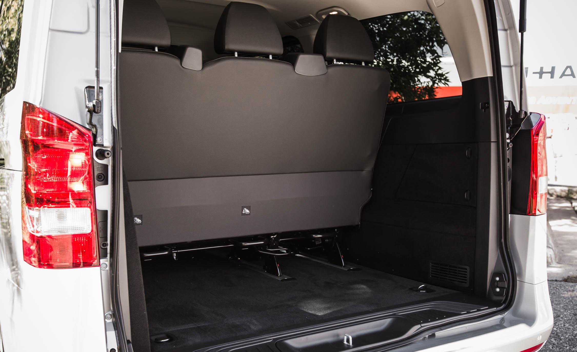 2016 Mercedes-Benz Metris Interior Cargo