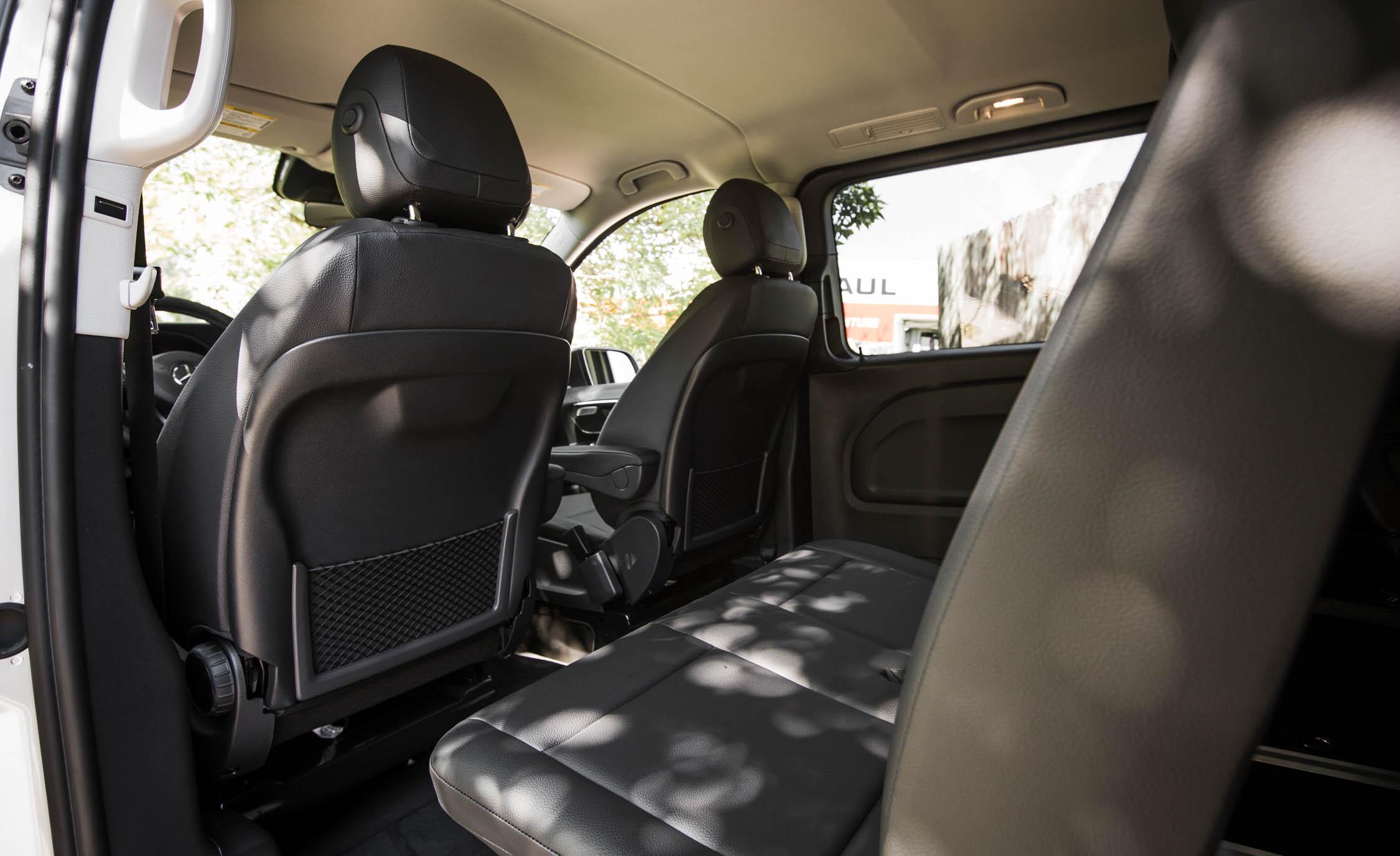 2016 Mercedes-Benz Metris Interior Rear Space