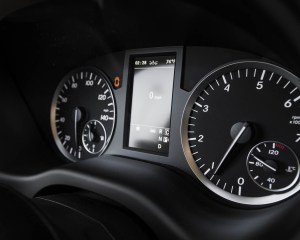 2016 Mercedes-Benz Metris Interior Speedometer
