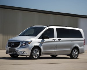 2016 Mercedes-Benz Metris Test Front and Side View