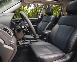 2016 Subaru Forester 2.0XT Touring Interior Seats Cockpit