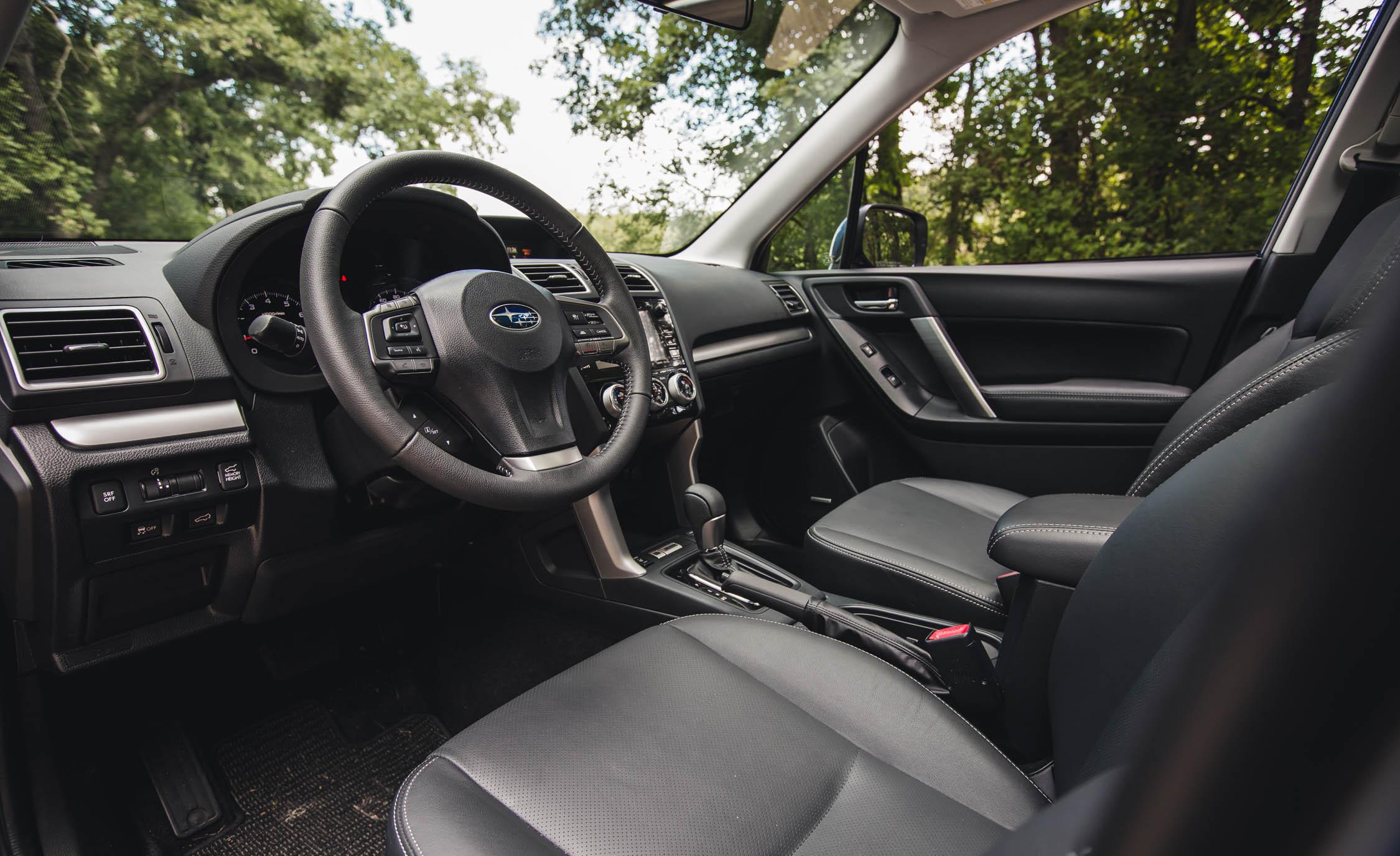 2016 Subaru Forester 2.0XT Touring Interior