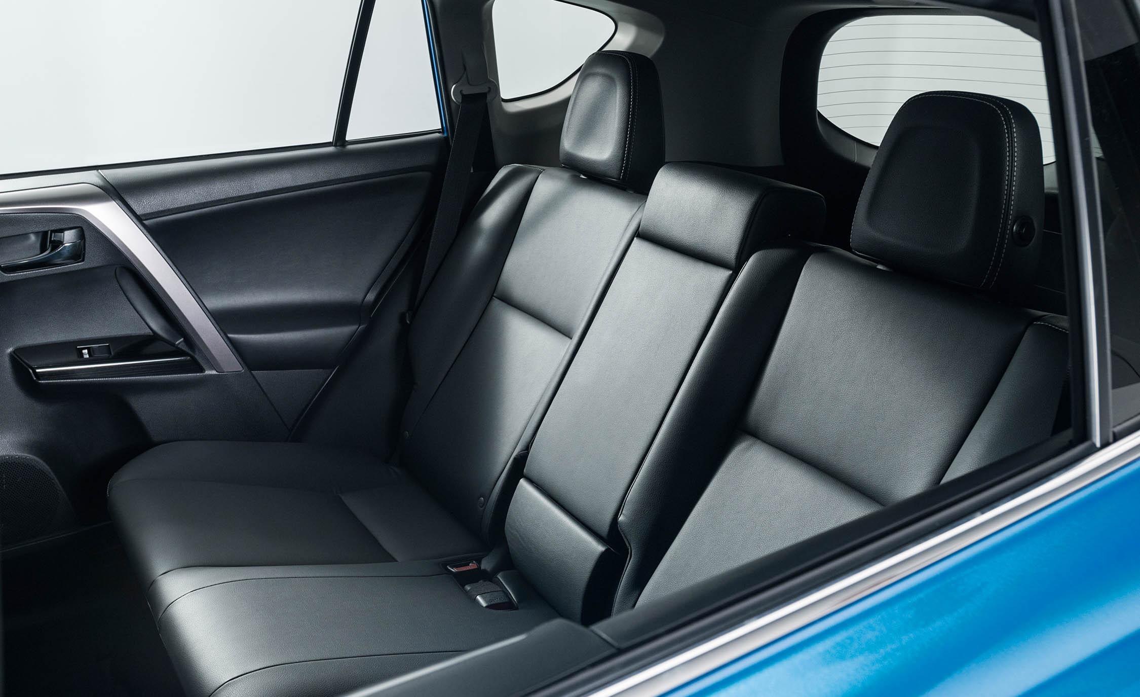 2016 Toyota RAV4 Hybrid Interior Rear Passenger Seats