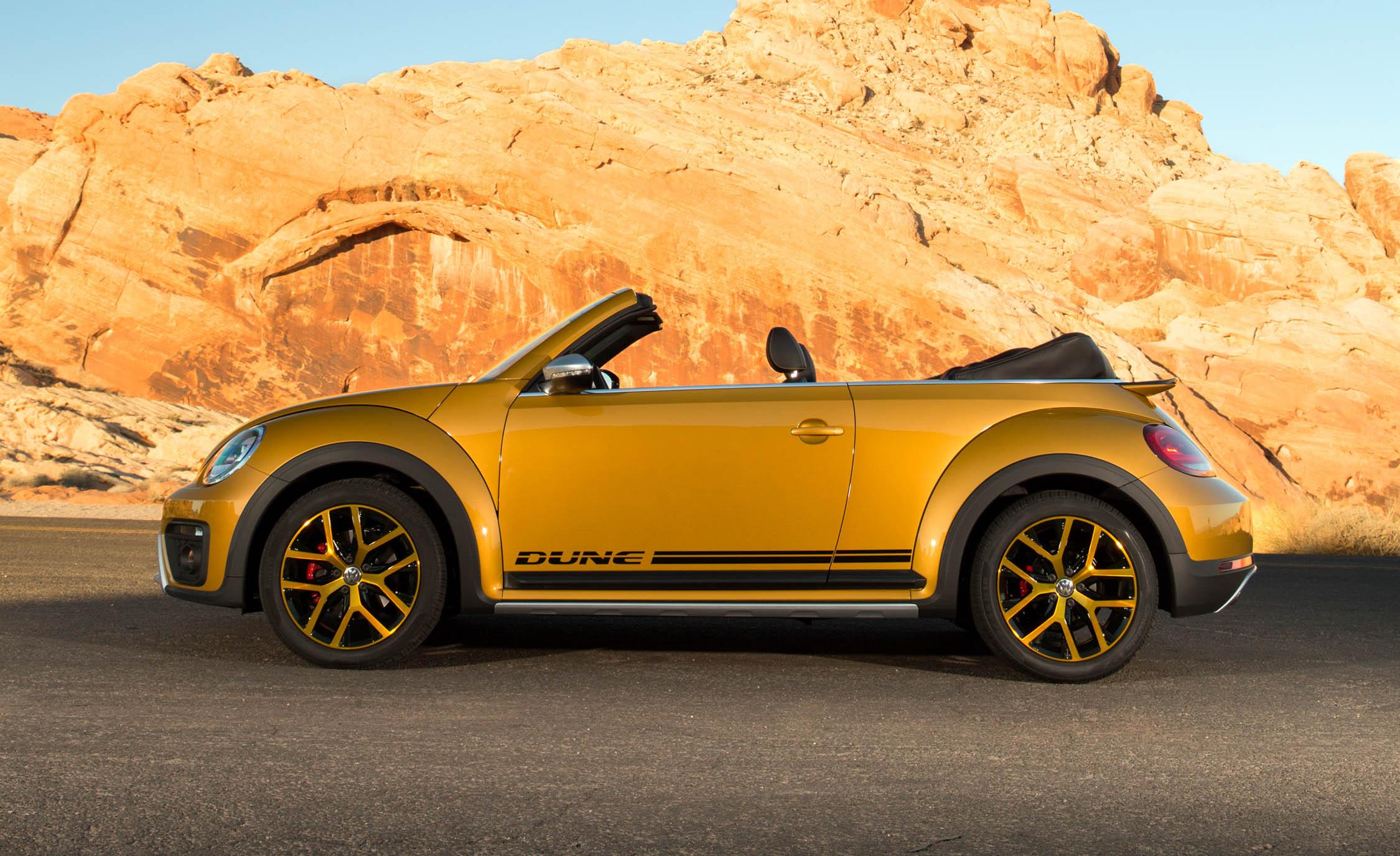 2016 Volkswagen Beetle Dune Convertible Exterior Full Side