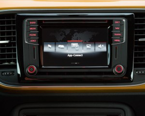 2016 Volkswagen Beetle Dune Interior Center Head Unit