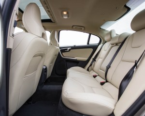 2016 Volvo S60 T5 Inscription Interior Rear Seats