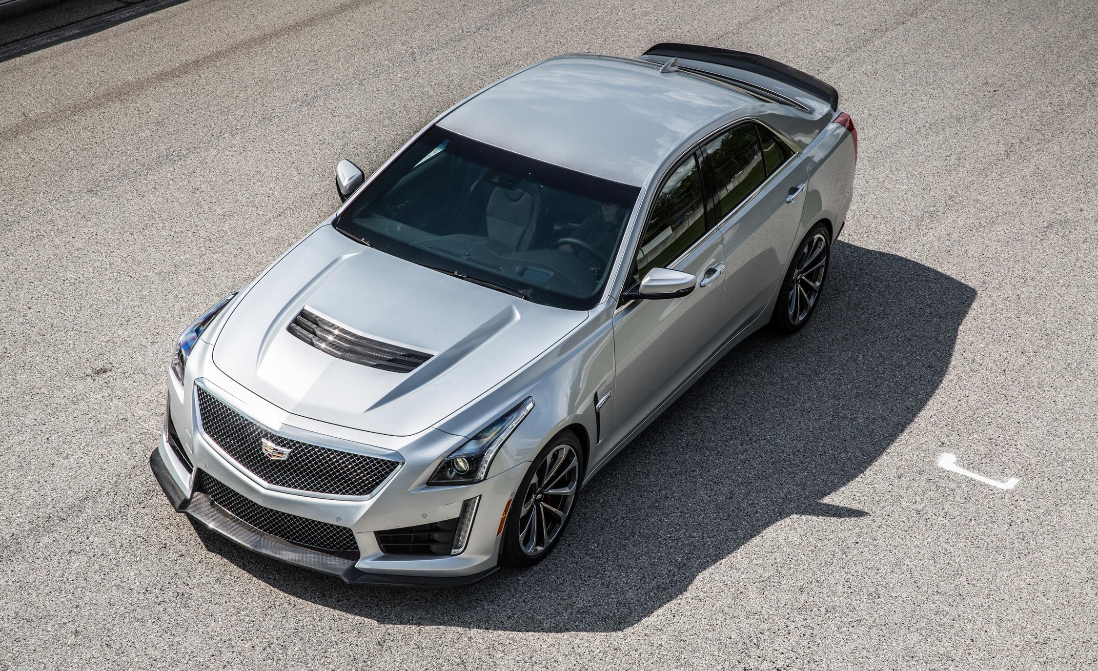 2016 Cadillac CTS-V Font Top View