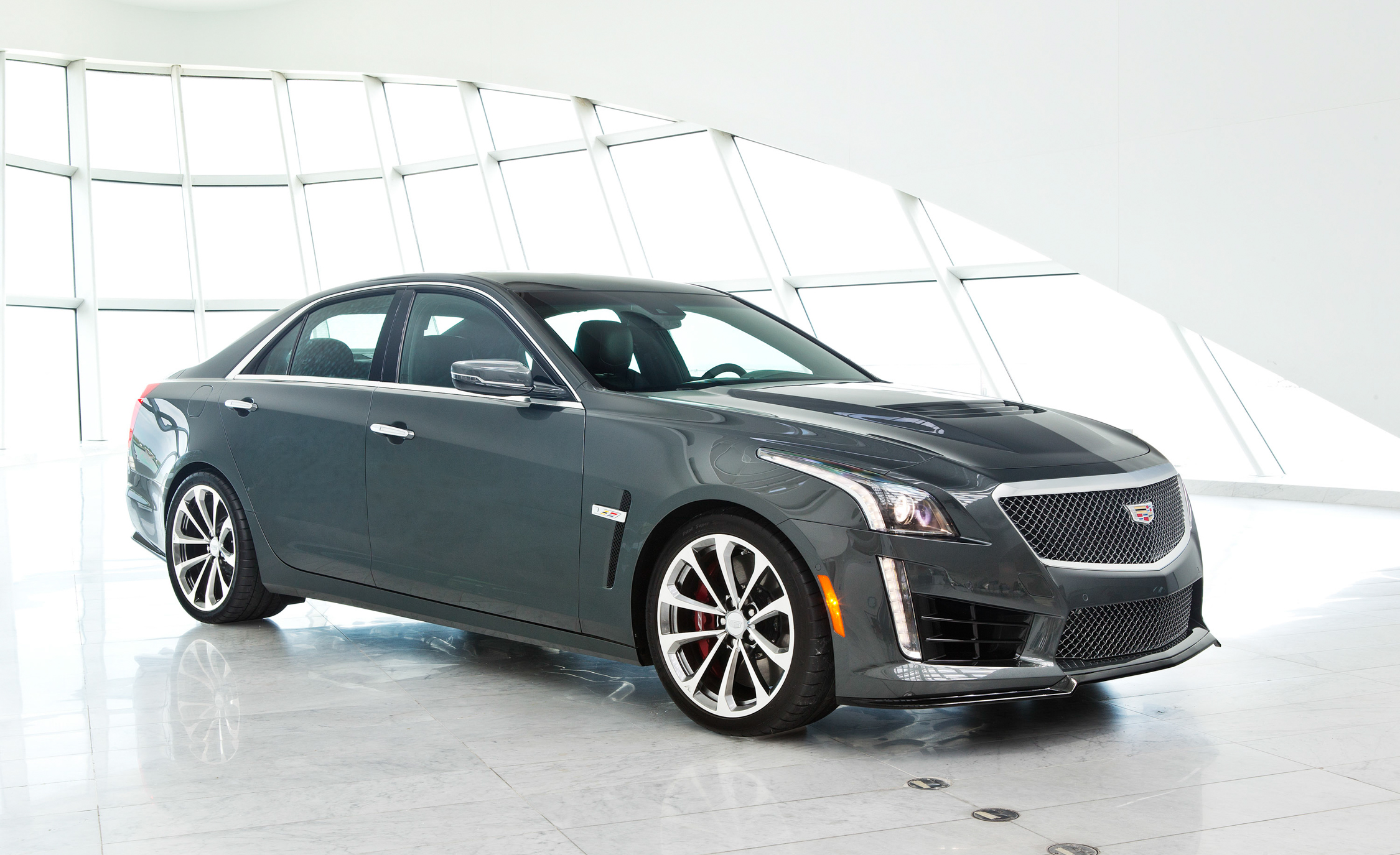 2016 Cadillac CTS-V Side View