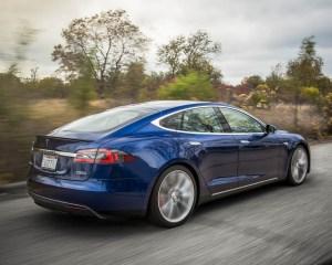 2015 Tesla Model S P90D Exterior Full Side