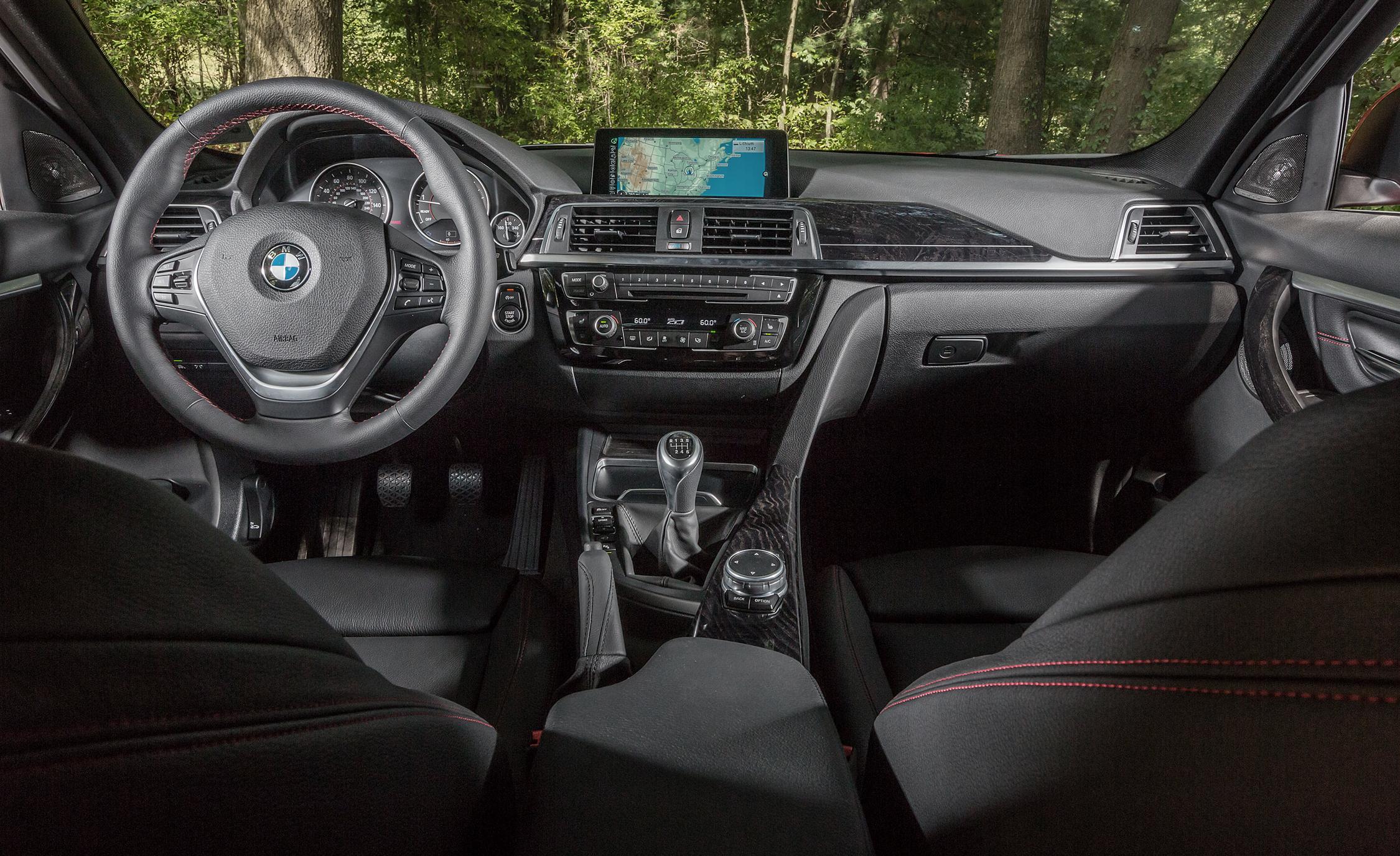 2016 BMW 340i Interior