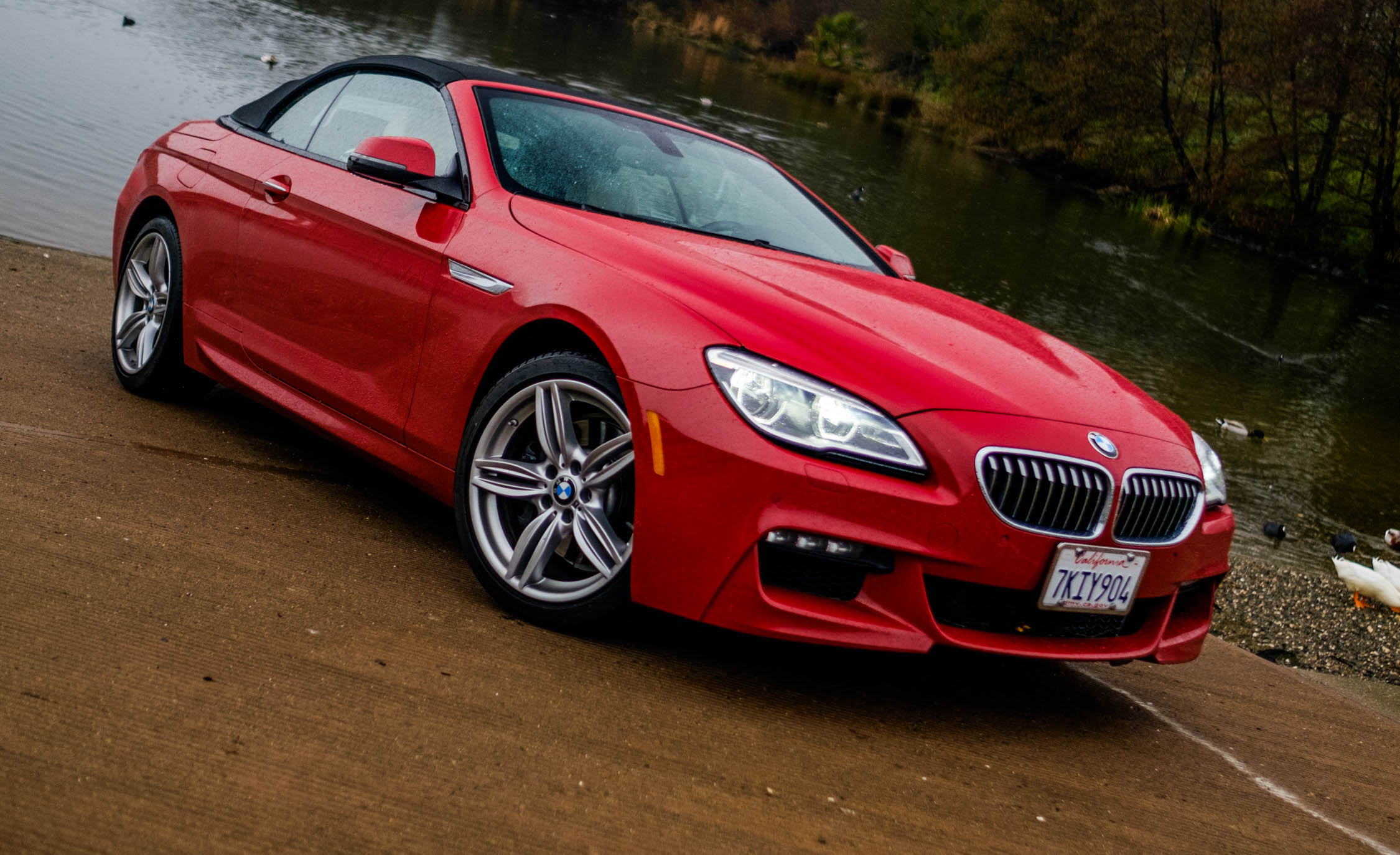 2016 BMW 640i Convertible Exterior Full Front and Side
