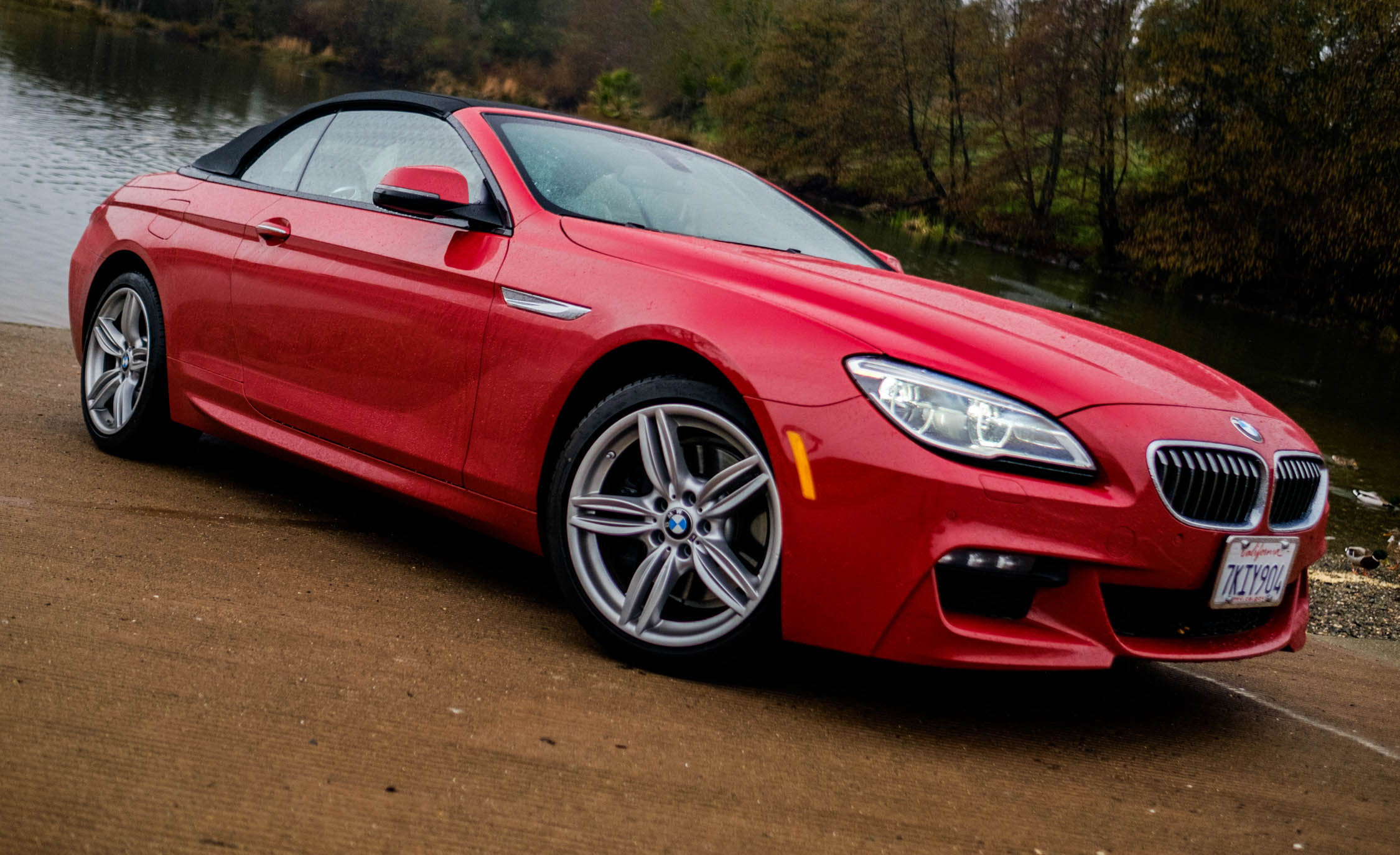 2016 BMW 640i Convertible Exterior Full Side and Front